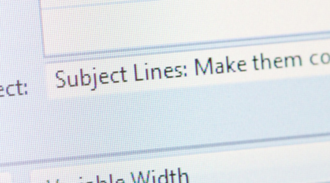Email subject length