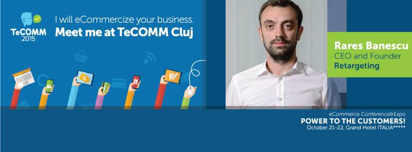 Meet us at TeCOMM Cluj!