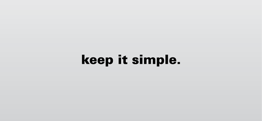 Image result for keep things simple