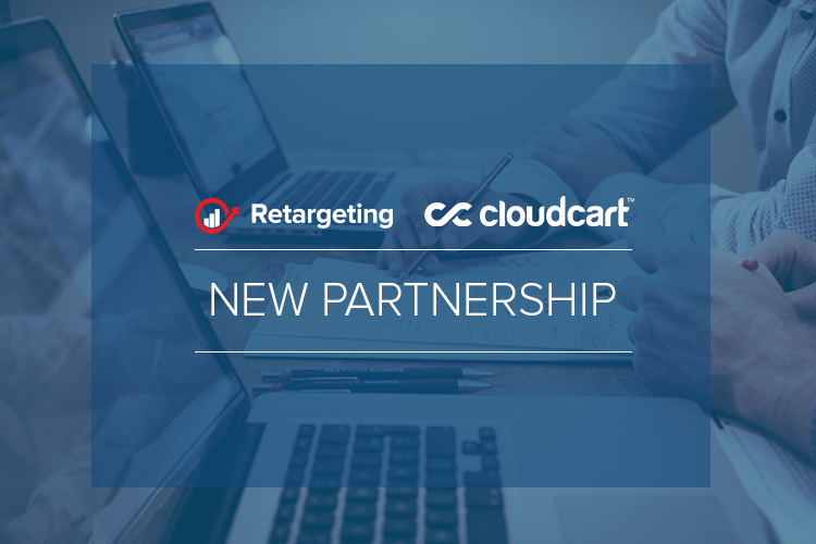 Retargeting and CloudCart partnership