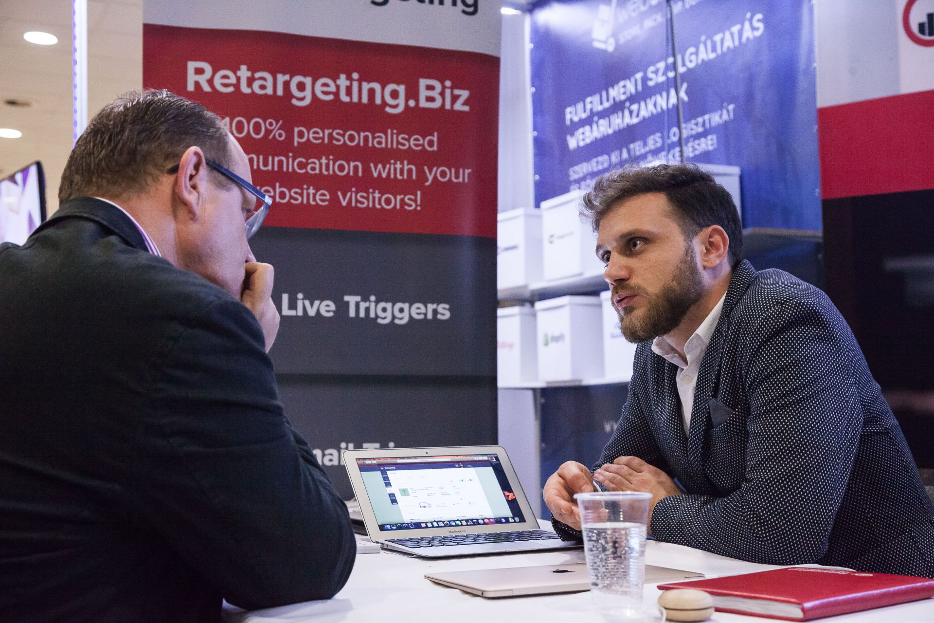 Retargeting in Hungary, at the Ecommerce Expo Budapest 2017