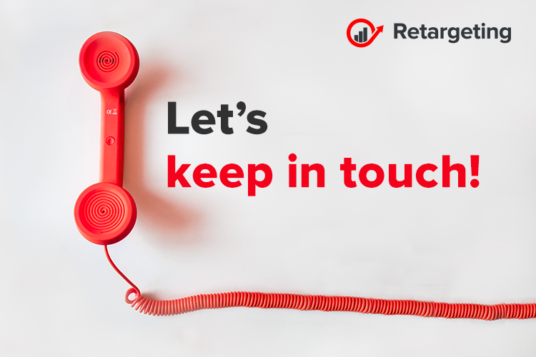 Let's keep in touch!