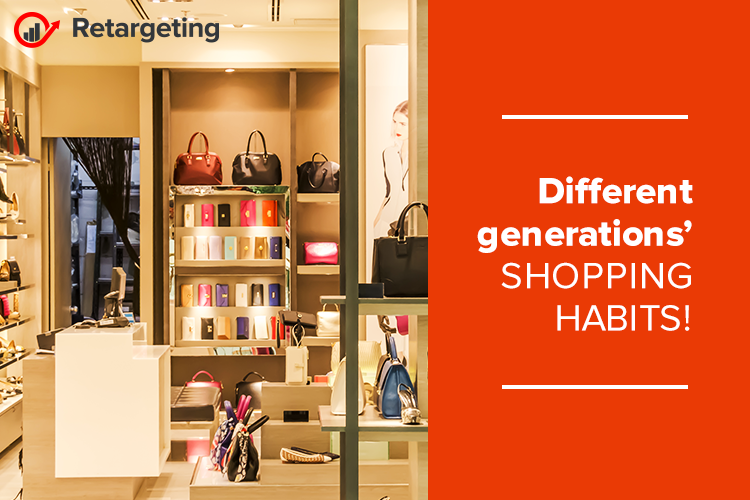 Different generations' shopping habits!