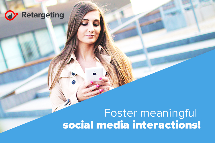 Foster meaningful social media interactions!