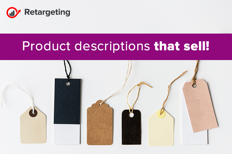 Product descriptions that sell!