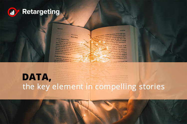Data, the key element in compelling stories