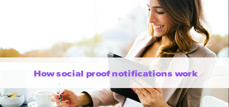 social proof notifications