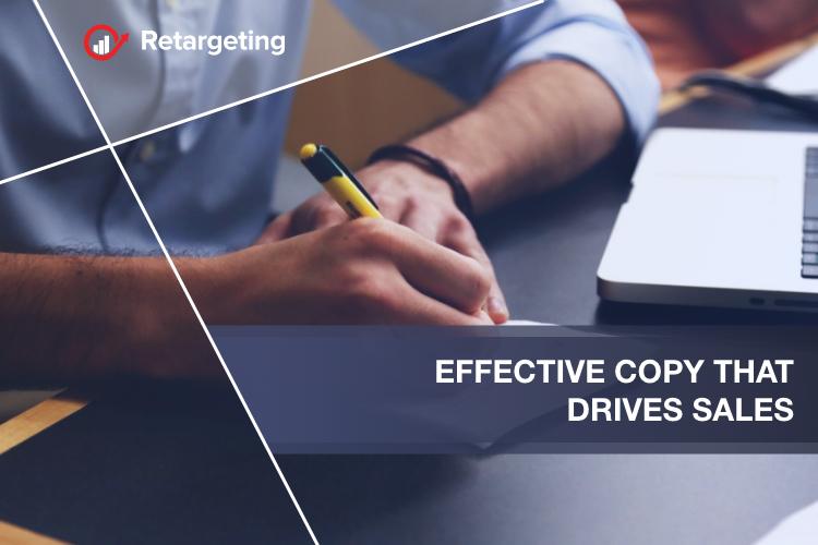 Effective copy that drives sales