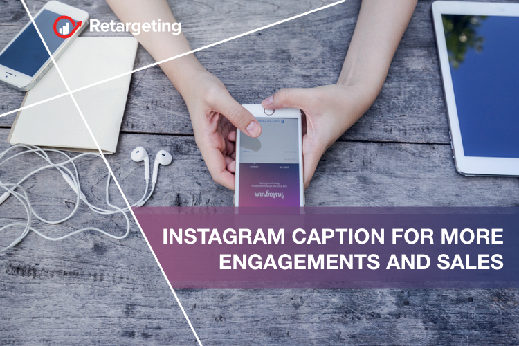 Instagram caption for more engagements and sales