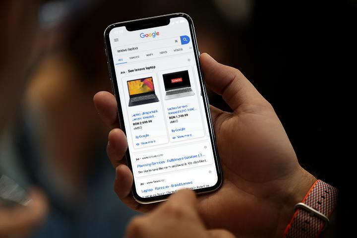 Google Shopping Ads Mobile