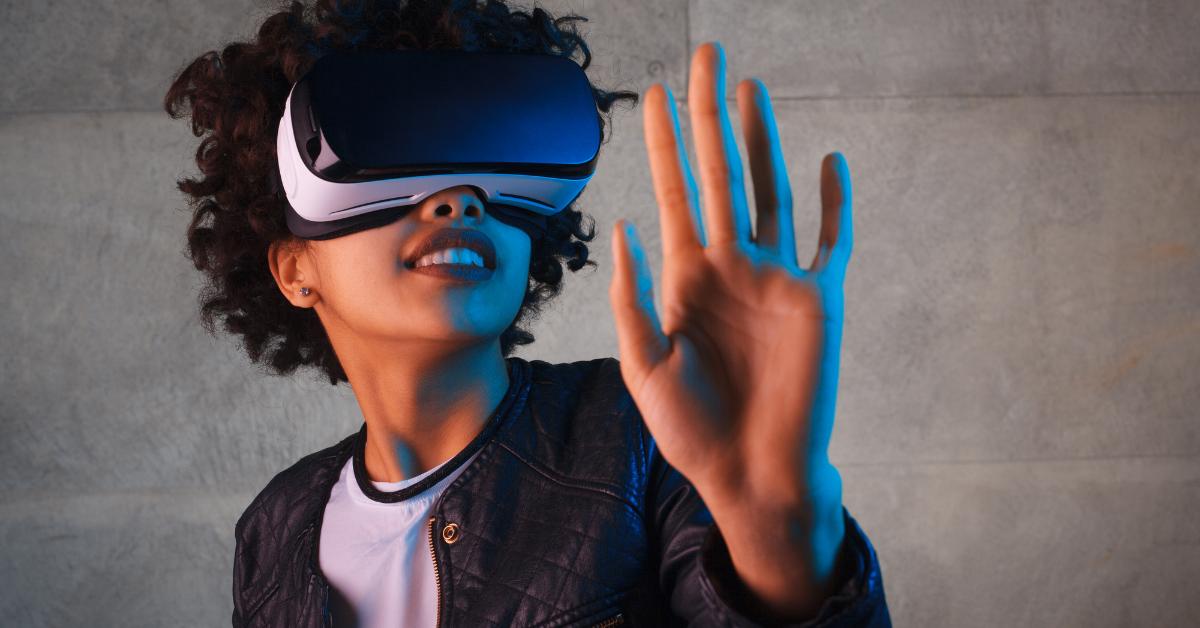 AR VR goggles