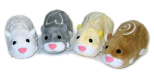 Zhu Zhu pets imitating real life hamsters
