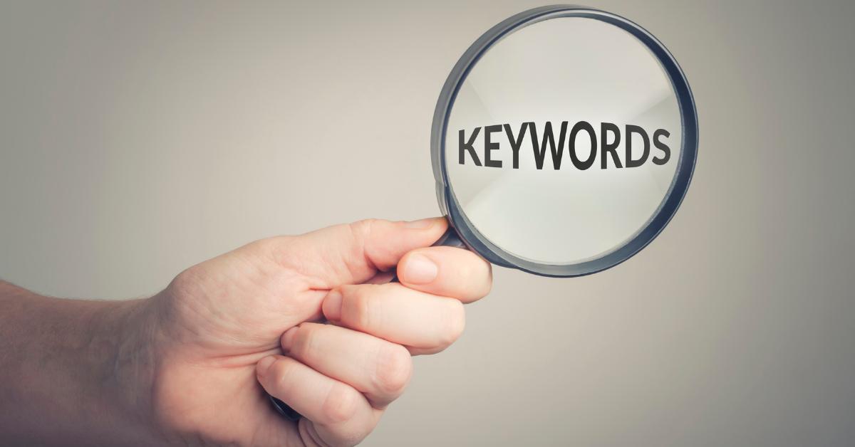 Making keywords visible