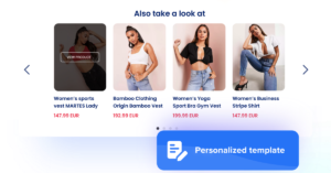 Recommendation widget