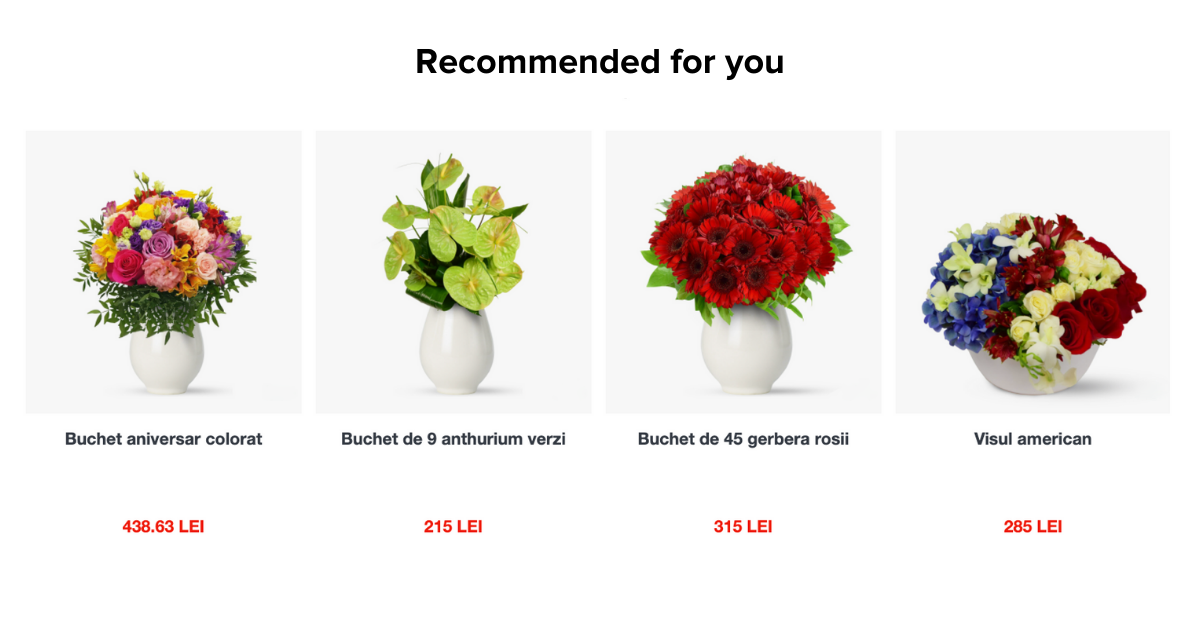 florăriile și magazinele de cadouri online