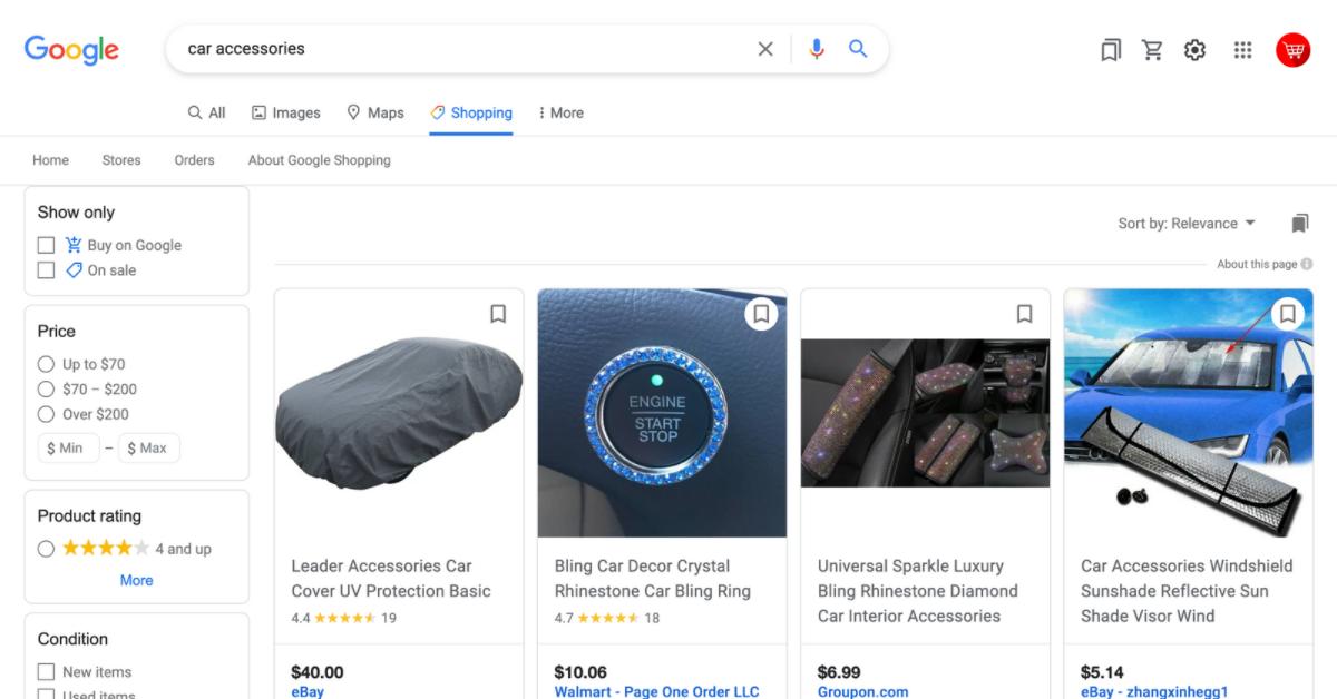 automotive online shops
