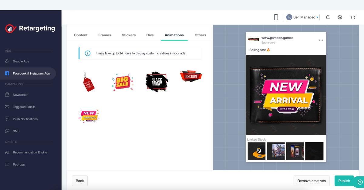 designul magazinelor online